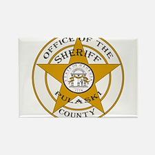 Pulaski County Sheriff Rectangle Magnet