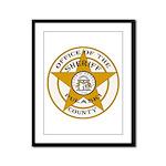 Pulaski County Sheriff Framed Panel Print