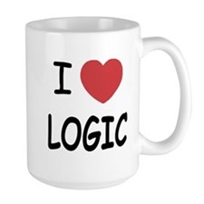 I heart logic Mug