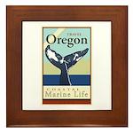 Travel Oregon Framed Tile
