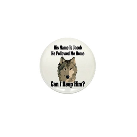 Can I keep him??? Mini Button (10 pack)