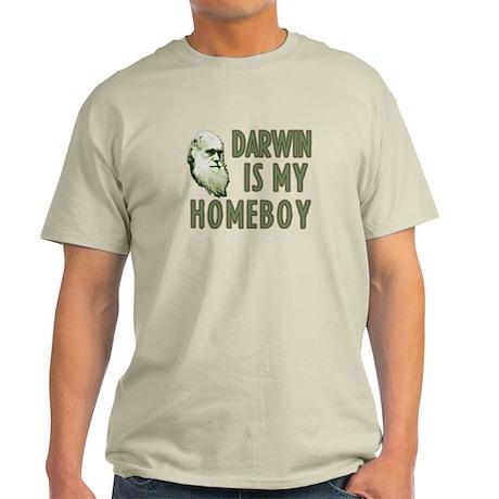 Darwin is my Homeboy Light T-Shirt