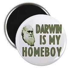 "Darwin is my Homeboy 2.25"" Magnet (10 pack)"