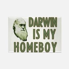 Darwin is my Homeboy Rectangle Magnet (10 pack)