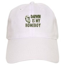 Darwin is my Homeboy Baseball Cap