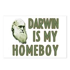 Darwin is my Homeboy Postcards (Package of 8)