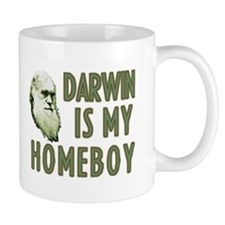 Darwin is my Homeboy Small Small Mug