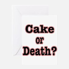 OR Death???? Greeting Card