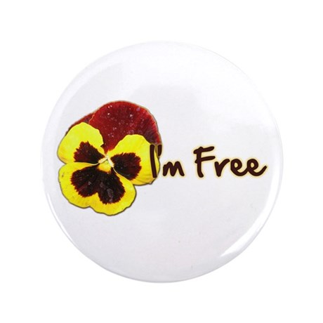 "I'm Free 3.5"" Button (100 pack)"