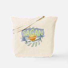 Sagan is my Homeboy Tote Bag