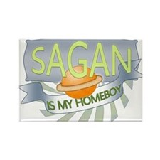 Sagan is my Homeboy Rectangle Magnet