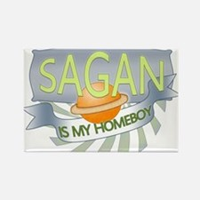 Sagan is my Homeboy Rectangle Magnet (100 pack)