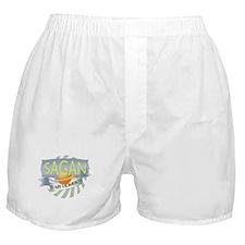 Sagan is my Homeboy Boxer Shorts