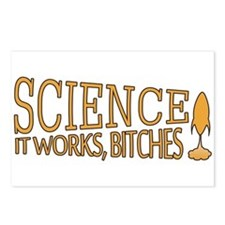 Science. It works, bitches! Postcards (Package of