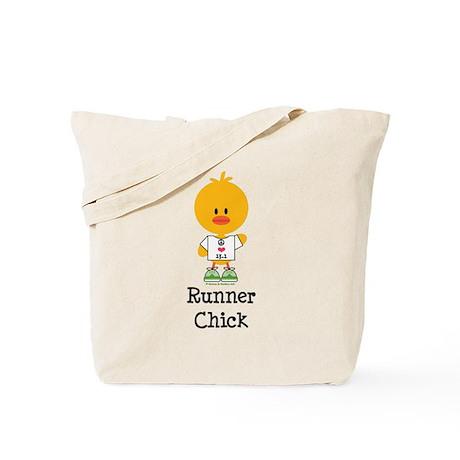 Runner Chick 13.1 Tote Bag
