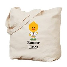 Runner Chick 13.1 Tote Bag