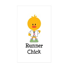 Runner Chick 13.1 Decal