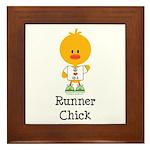 Runner Chick 13.1 Framed Tile
