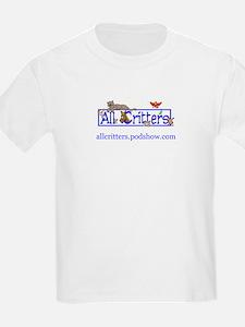 AllCritters PodShow LogoWear Kids T-Shirt