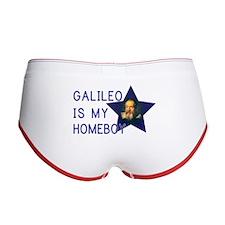 Galileo is my Homeboy Women's Boy Brief