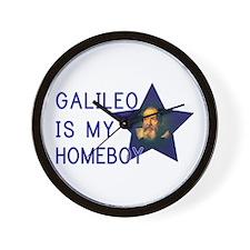 Galileo is my Homeboy Wall Clock
