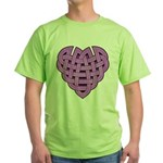 Hesta Heartknot Green T-Shirt