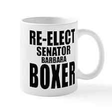 Re-Elect Sen. Boxer Mug