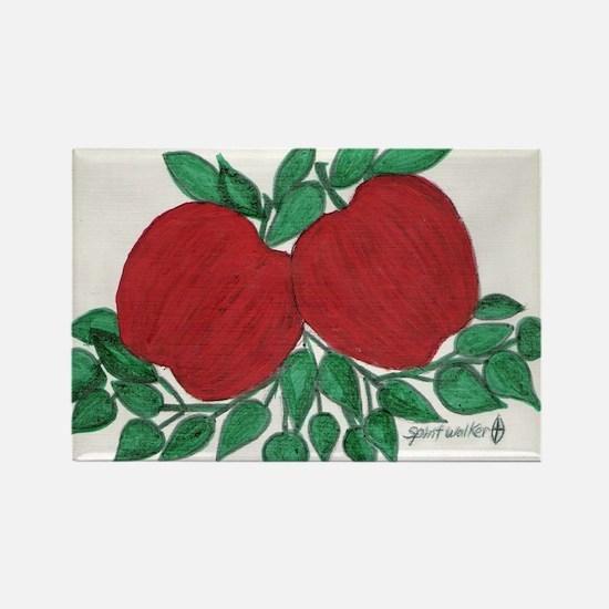 Apple/ Rectangle Magnet