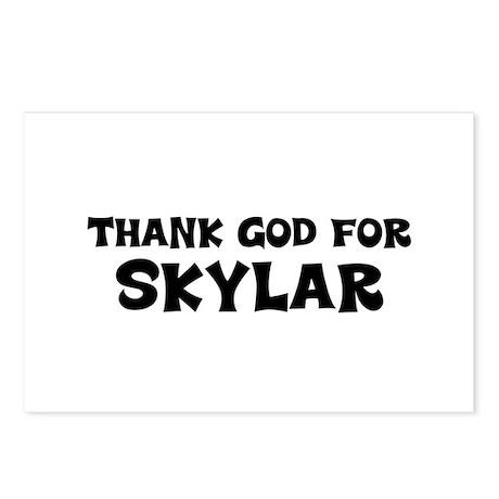 Thank God For Skylar Postcards (Package of 8)