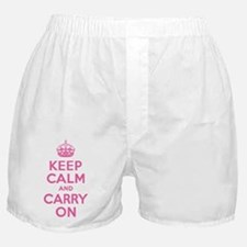 Keep Calm & Carry On Boxer Shorts