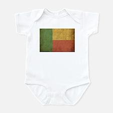 Vintage Benin Flag Infant Bodysuit