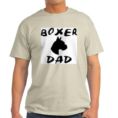 Boxer Dad (Head Study) Ash Grey T-Shirt