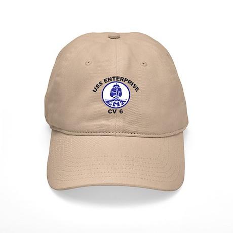 USS Enterprise CV-6 Cap