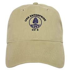 USS Enterprise CV-6 Cap