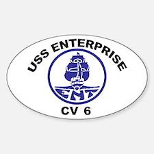 USS Enterprise CV-6 Decal