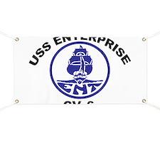 USS Enterprise CV-6 Banner