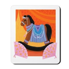 Arabian Nights Rocking Horse Mousepad
