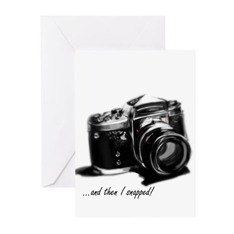 and then I snapped! Greeting Cards (Pk of 10)