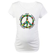 Autism Peace Sign Shirt