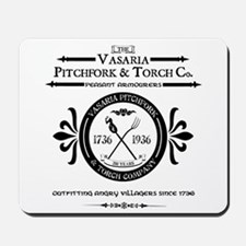 Vasaria Pitchfork and Torch Co. Mousepad