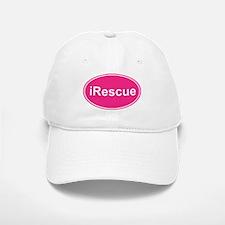 iRescue Pink Oval Baseball Baseball Cap