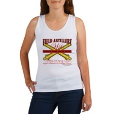 Army Field Artillery Wife FA Women's Tank Top