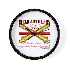 Army Field Artillery Wife FA Wall Clock
