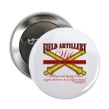 "Army Field Artillery Wife FA 2.25"" Button"