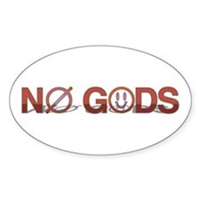 No Gods Decal