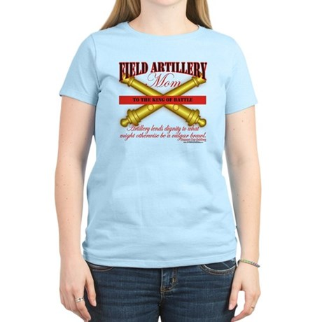 Army Field Artillery Mom FA Women's Light T-Shirt