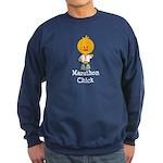 Marathon Chick 26.2 Sweatshirt (dark)