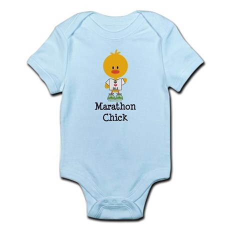 Marathon Chick 26.2 Infant Bodysuit