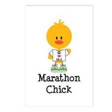 Marathon Chick 26.2 Postcards (Package of 8)