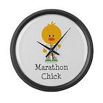 Marathon Chick 26.2 Large Wall Clock
